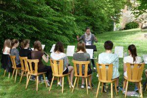 Registerprobe der Klarinetten 2015