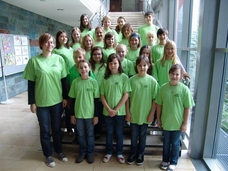 DIe erste Chorklasse 2011